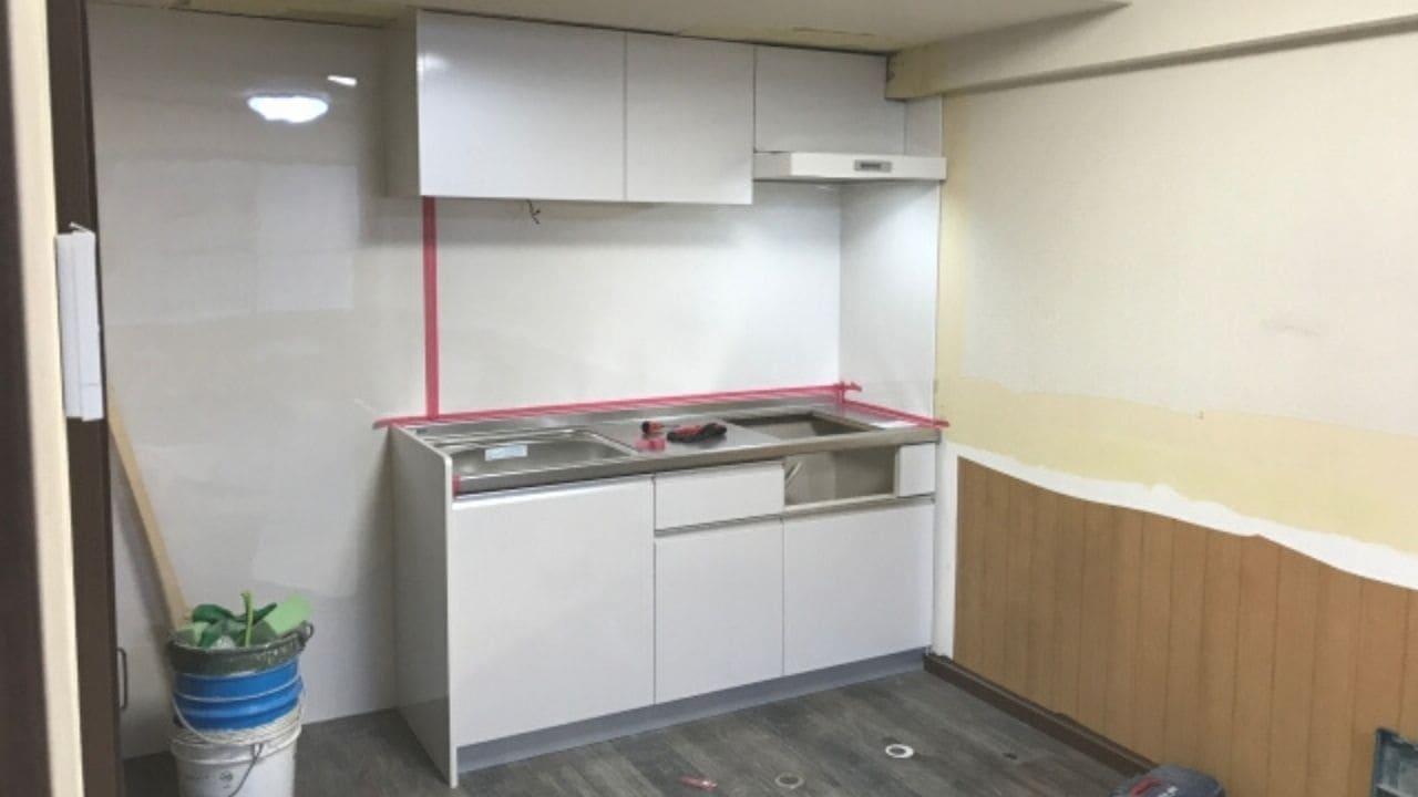 キッチンリフォーム工事の作業の流れ7つのステップ