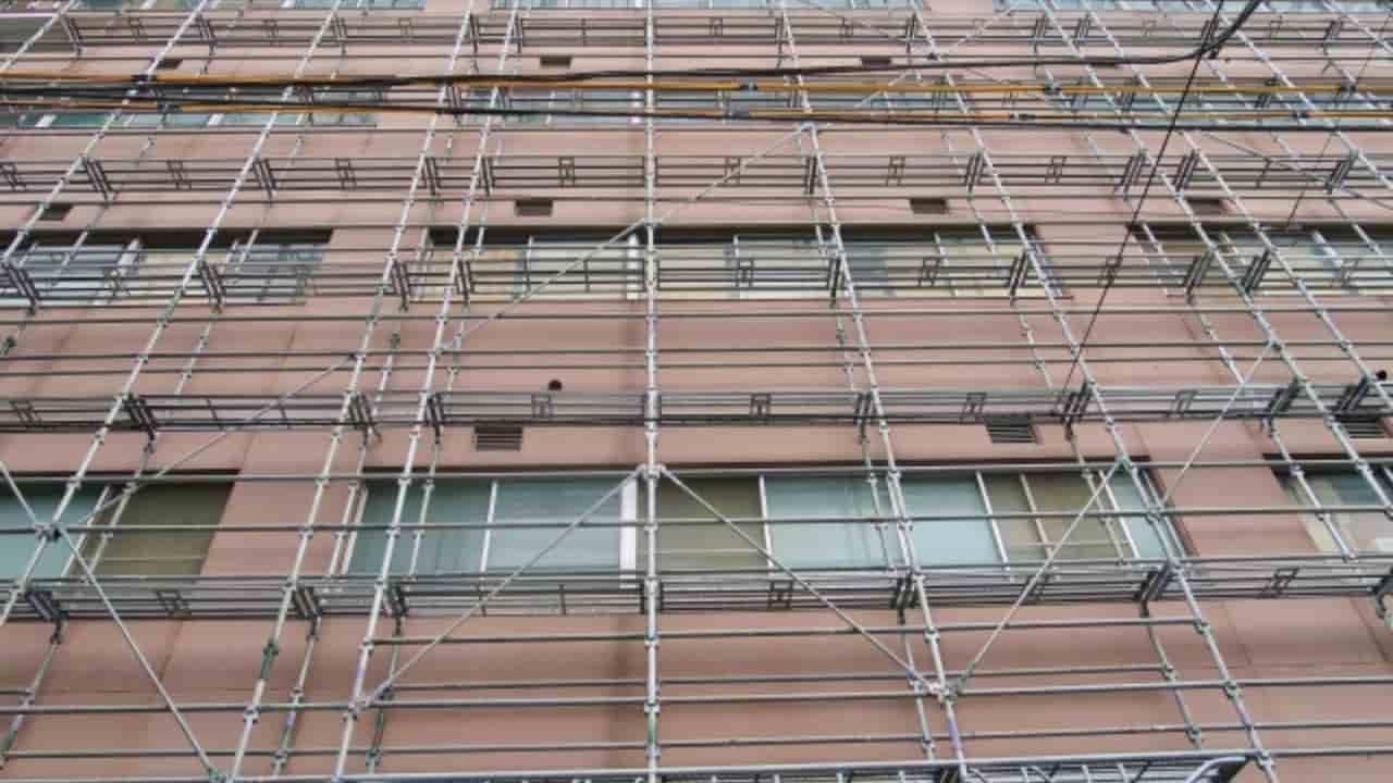 外壁塗装における足場工事の概要と足場の3つの種類